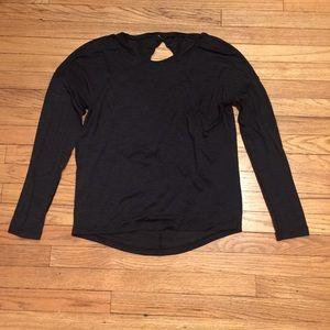 Lululemon black silvertech shirt - sz 4